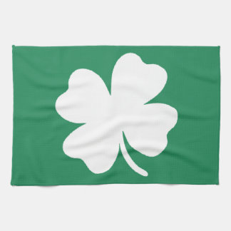Shamrock  Saint Patricks Day Ireland Tea Towel