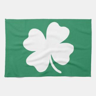 Shamrock  Saint Patricks Day Ireland Towels