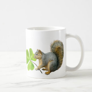 Shamrock Squirrel Mug