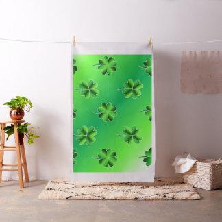 Shamrock St Patricks Day Design Fabric Material