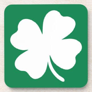 Shamrock  St Patricks Day Ireland Coaster