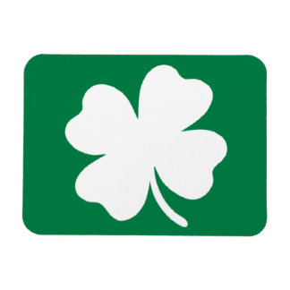 Shamrock  St Patricks Day Ireland Magnet