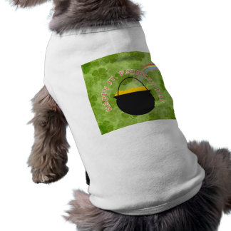 Shamrock St Patrick's Day Pet Shirt