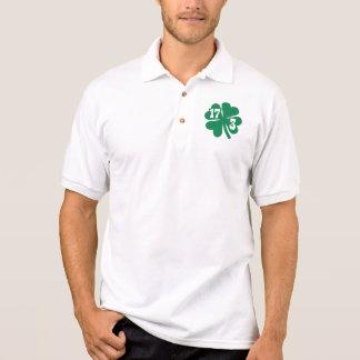 Shamrock St. Patrick's day Polos