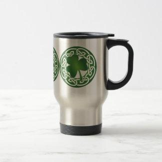 Shamrock - St Patrick's Day Reusable Travel Mug