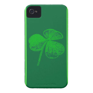 Shamrock Stamp Blackberry Bold Barely There Case iPhone 4 Case
