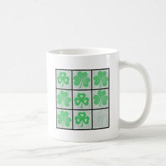Shamrock Tic Tac Toe Coffee Mug