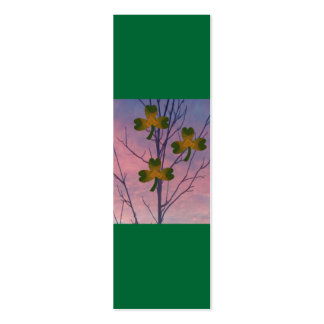 Shamrock Tree, Bookmark Business Cards