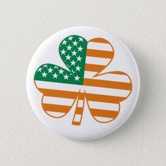 Shamrock USA 6 Cm Round Badge
