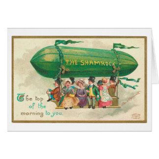 Shamrock Vintage St Patrick s Day Cards