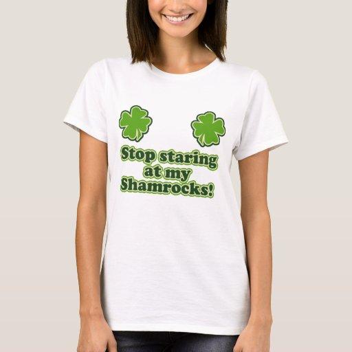 Shamrock women funny T-Shirt