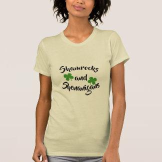 Shamrock Womens tshirt