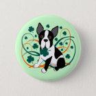 Shamrockin'  Terrier 6 Cm Round Badge