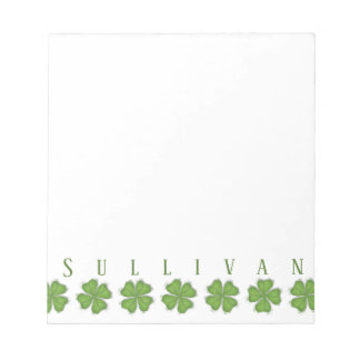 """Shamrock's 5.5"""" x 6"""" 40 page note pad"""