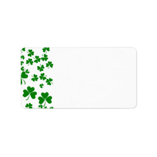 Shamrocks Address Label