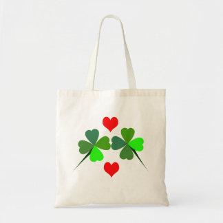 Shamrocks and Hearts Bag