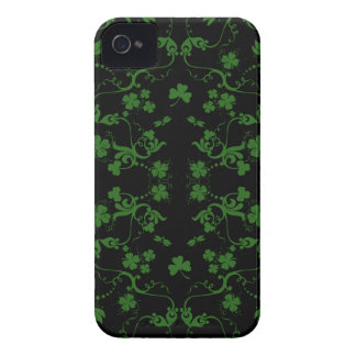 Shamrocks and Swirls iPhone 4 ID Case