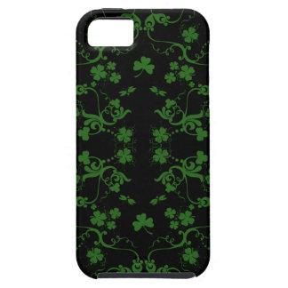 Shamrocks and Swirls iPhone 5 Case