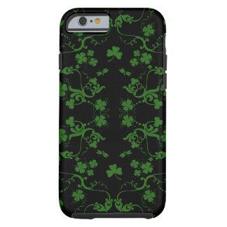 Shamrocks and Swirls iPhone 6 case Tough iPhone 6 Case