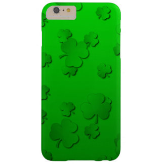 Shamrocks Barely There iPhone 6 Plus Case