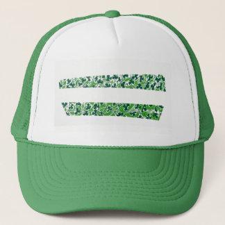 Shamrocks Design Trucker Hat