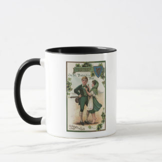 Shamrocks for Luck Mug