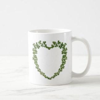 Shamrocks Heart Coffee Mug