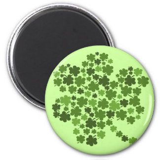 Shamrocks in a Shamrock Magnet