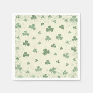 Shamrocks in the Mist Disposable Napkin