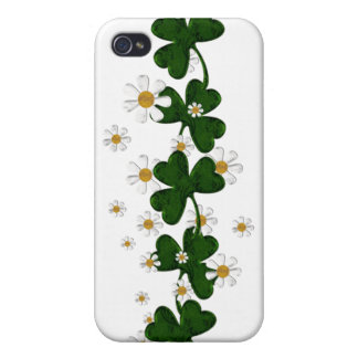 Shamrocks Covers For iPhone 4