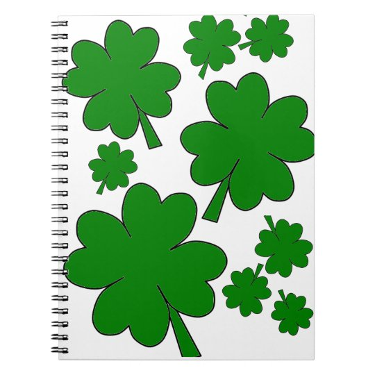 Shamrocks Notebook