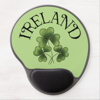 Shamrocks of Ireland Gel Mouse Mat