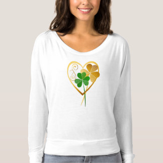 Shamrocks Of My Heart T-Shirt
