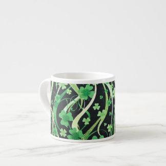 Shamrocks on the Wind 1 Espresso Mug