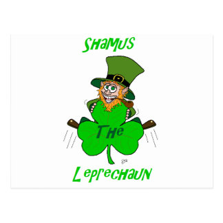 Shamus the Leprechaun Postcard