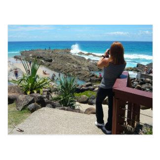 Shan at Rainbow Bay Postcard