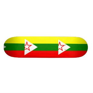 Shan State National Army, Myanmar Skate Board Deck