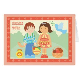 Shana Tova character Card
