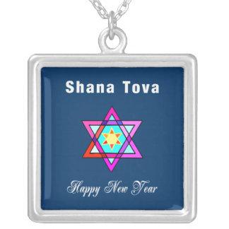 Shana Tova Jewish Star Custom Jewelry