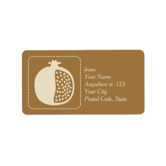 Shana Tova Rosh Hashanah Jewish New Year Label