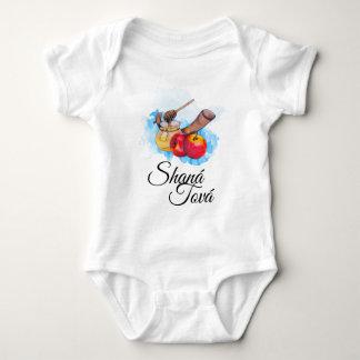 Shana Tufa/Rosh Hashanah Baby Bodysuit