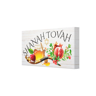 Shanah Tovah Canvas Art