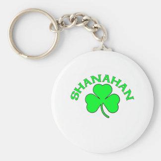 Shanahan Basic Round Button Key Ring