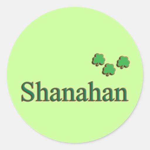 Shanahan Family Stickers