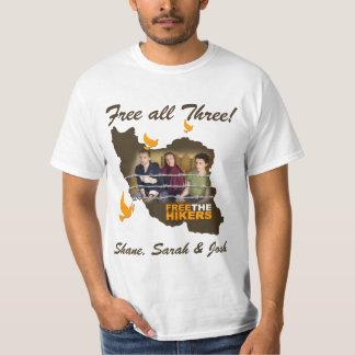 Shane, Sarah & Josh: Free all Three! T-Shirt
