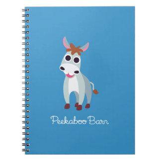 Shane the Donkey Spiral Notebook