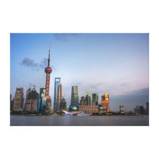 Shanghai China Canvas Print