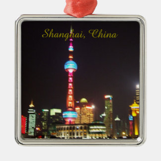 Shanghai China Christmas Ornament
