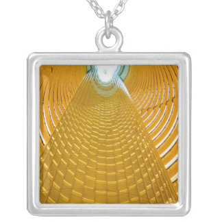 Shanghai China wonderful abstract of Oriental Silver Plated Necklace