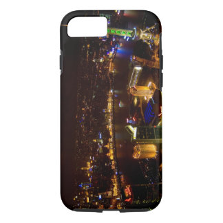 Shanghai China wonderful skyline with modern iPhone 8/7 Case